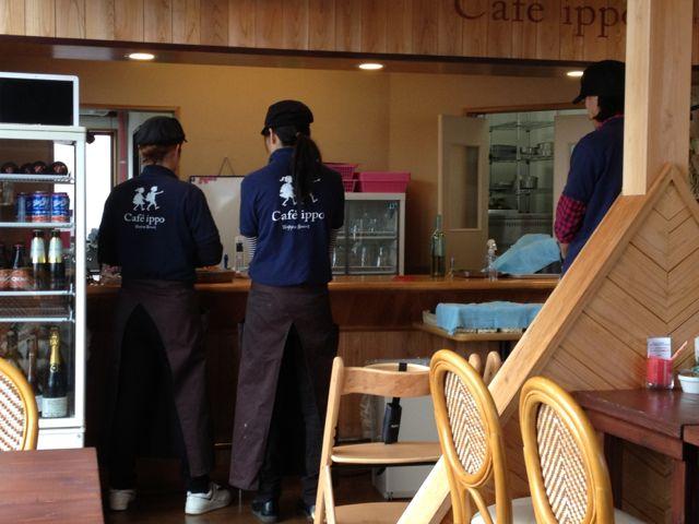 Cafe ippoスタッフ研修をおこないました!