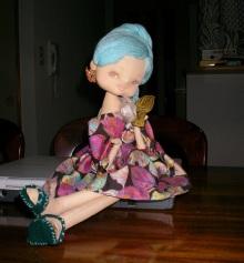 創作人形-春-手作りです!