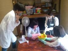 初めての石鹸教室
