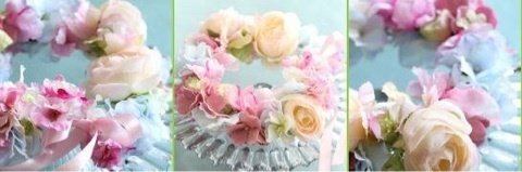 [workshop]ロマンチック花冠
