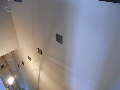 漆喰壁・墨色壁