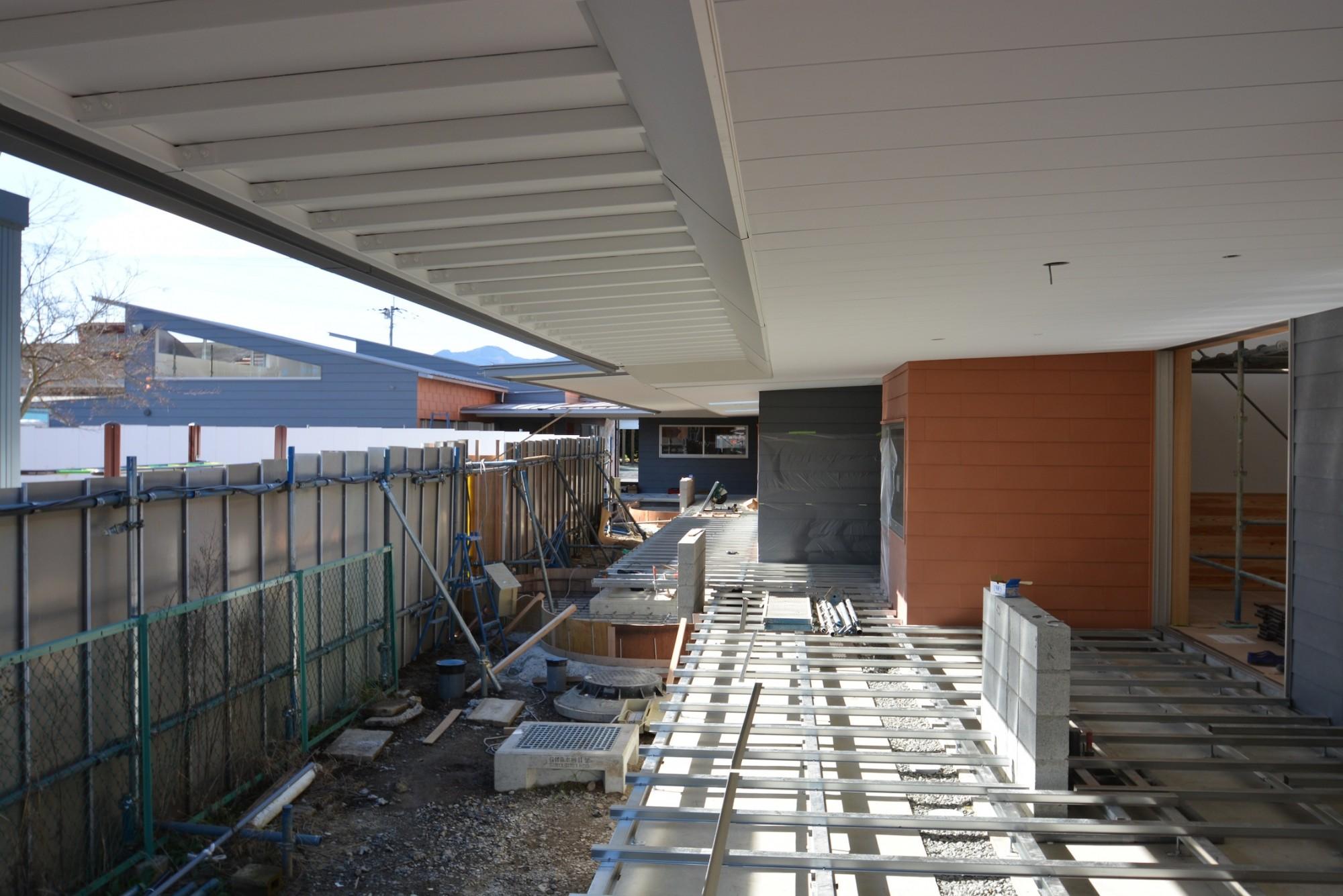 熊本の幼稚園:外壁完了