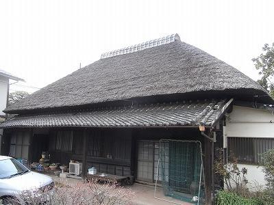 首都圏に残る茅葺屋根