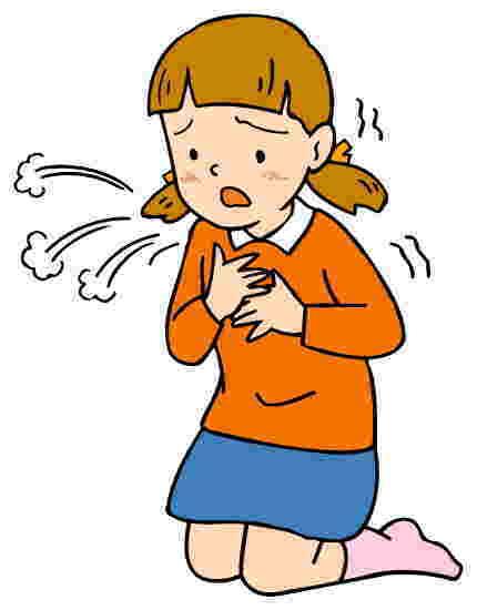 咳が止まらない セキ喘息は、夏場にも増えている!!