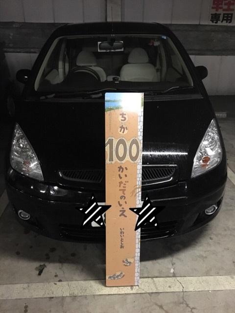 【車と大きさ比較!】ちか100かいだてのいえを借りてきました。