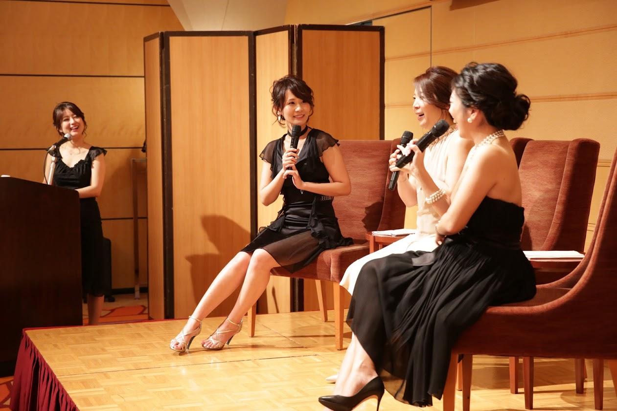 「愛され妻の習慣」出版記念 partyの様子(2)