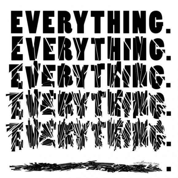 """""""everything"""" """"all"""" """"never"""" を使う人には気をつけて"""