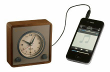 TUMIのアナログ置き時計 MP3音楽プレーヤー