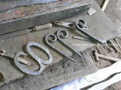 鍛冶屋さんの仕事