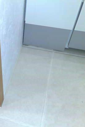 洗面所のタイル