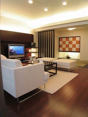 日本らしい家のデザイン〜和室につづくリビング