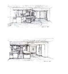 建築家のスケッチ#1
