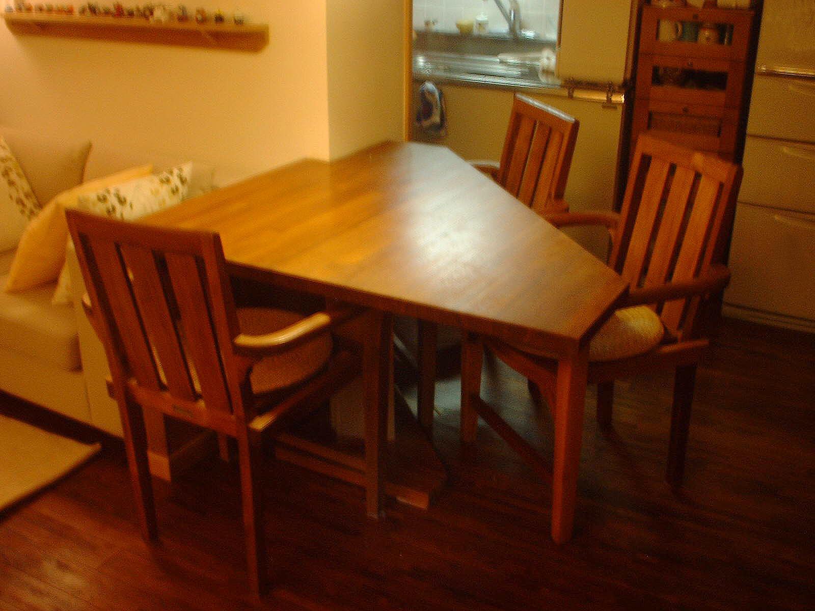 ダイニングテーブル(現場造作家具)
