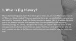 オンライン Big History コース(中・高校生向け)