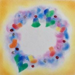 クリスマスコラボイベント パステルアートとストールの巻き方体験会