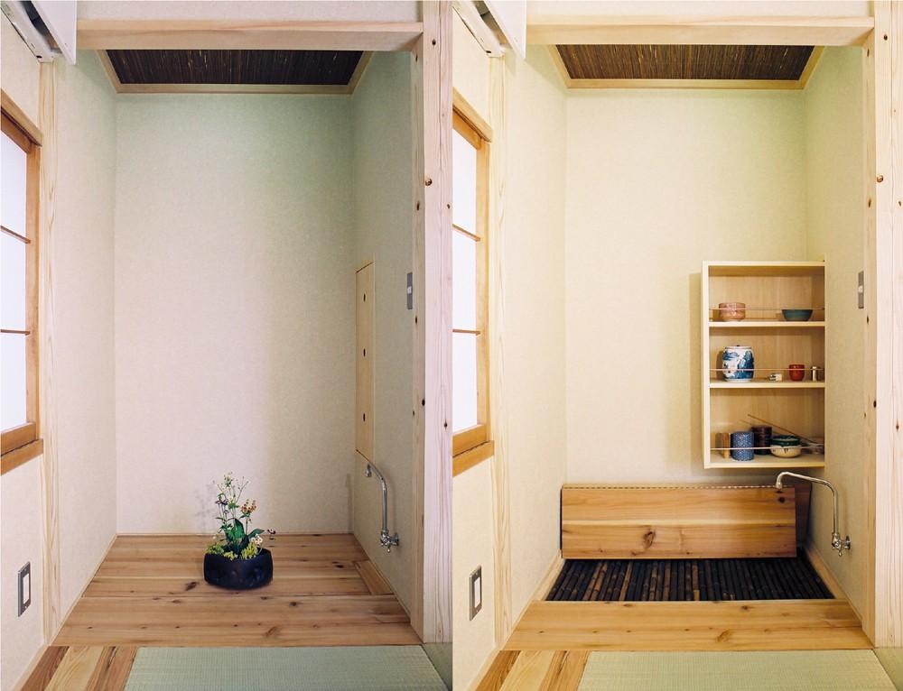 岩槻の家(大改造!!劇的ビフォーアフター物件) 床の間⇒水屋
