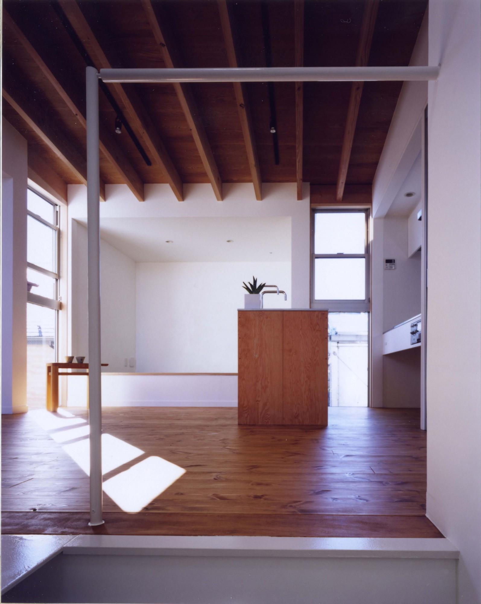 8坪の狭小住宅