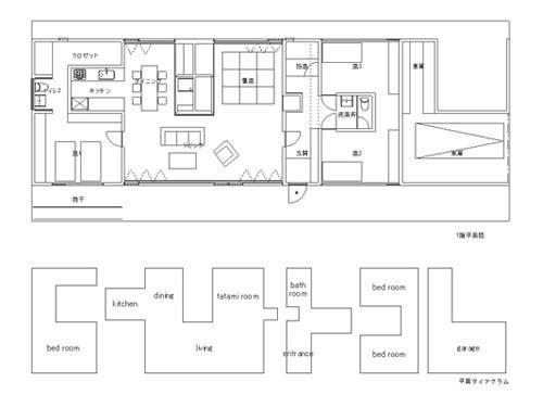 ある家のものがたり「コンセント」図面