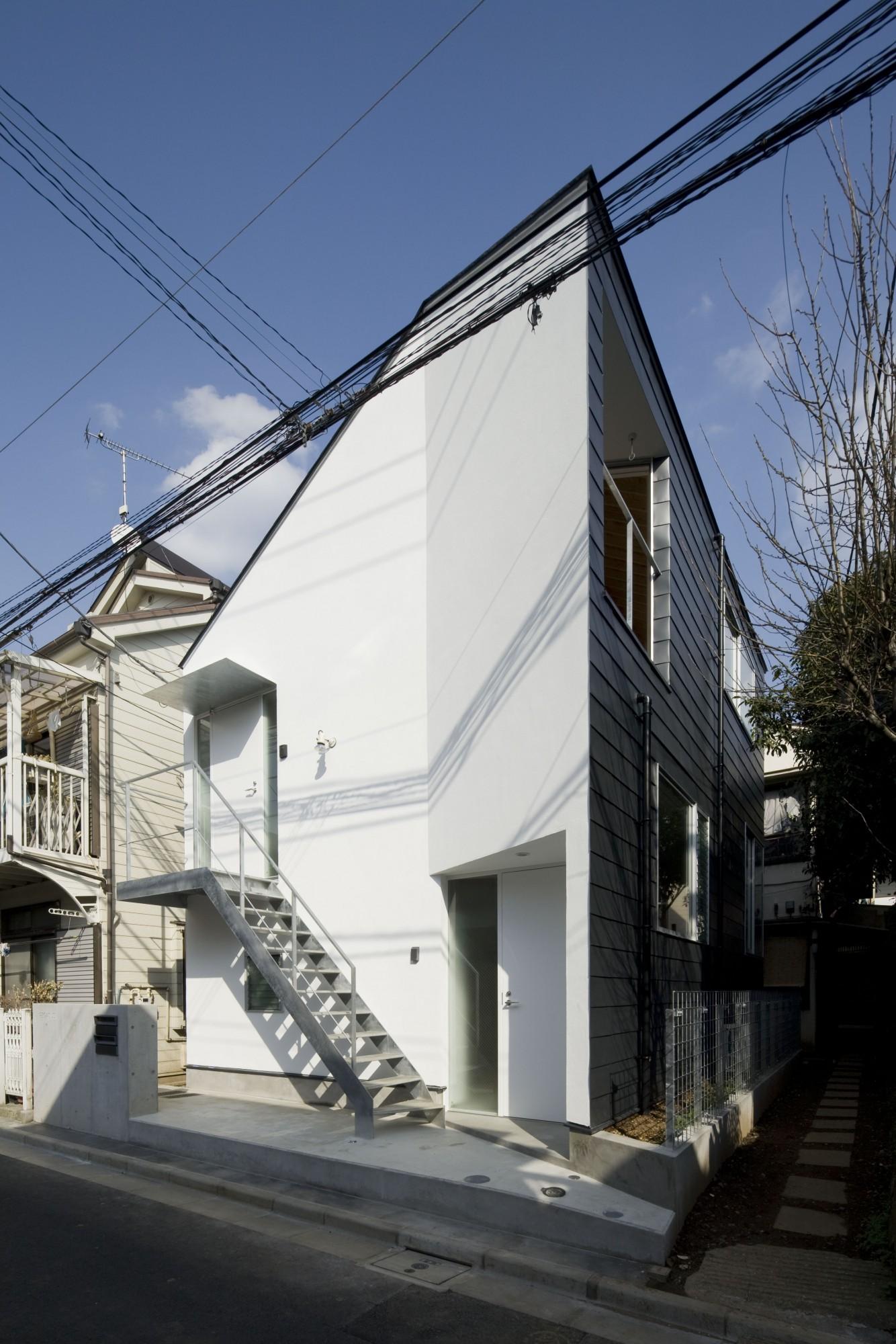 高円寺の長屋1(ファサード)