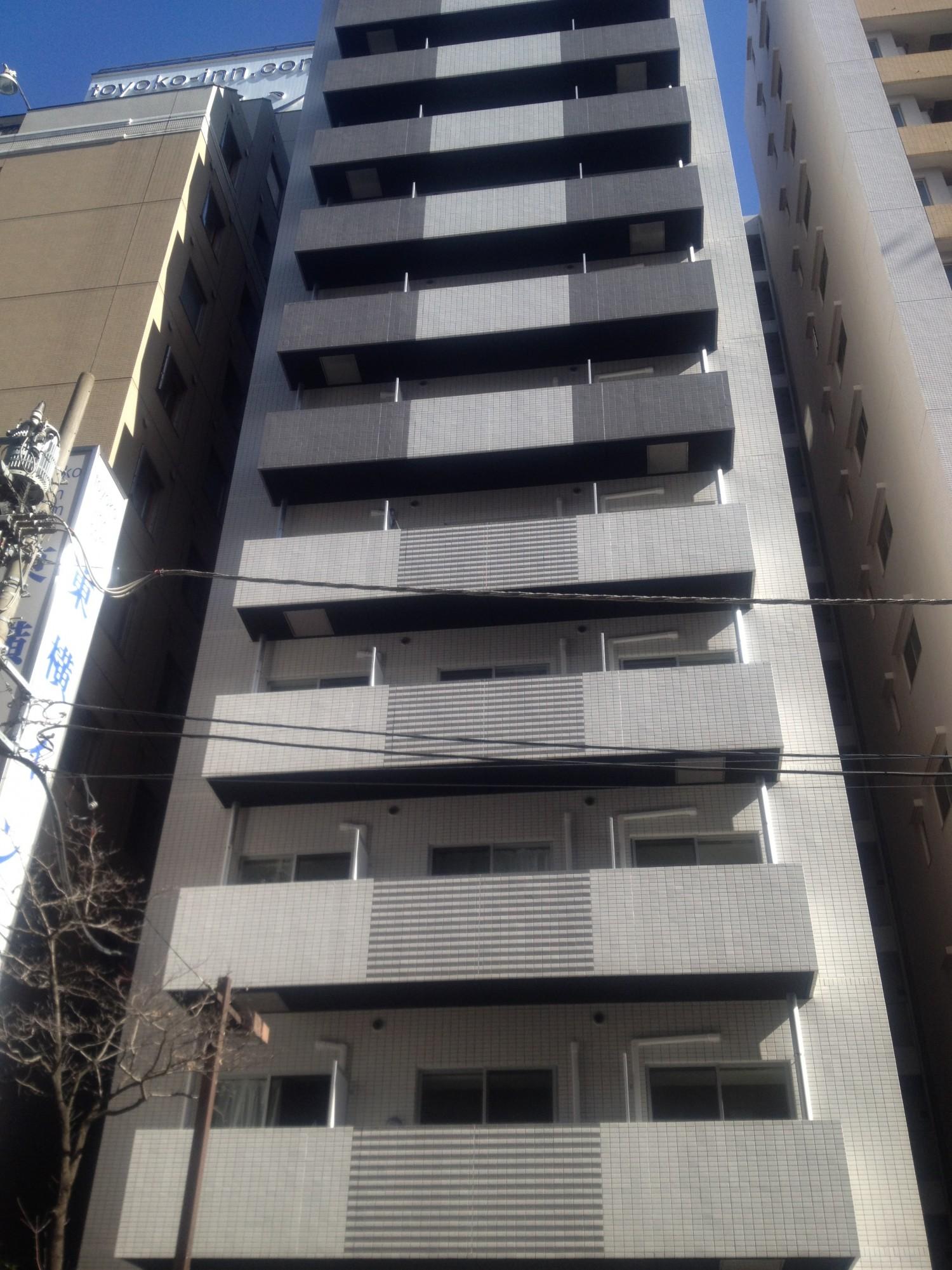 商業地に建つワンルームマンション55戸