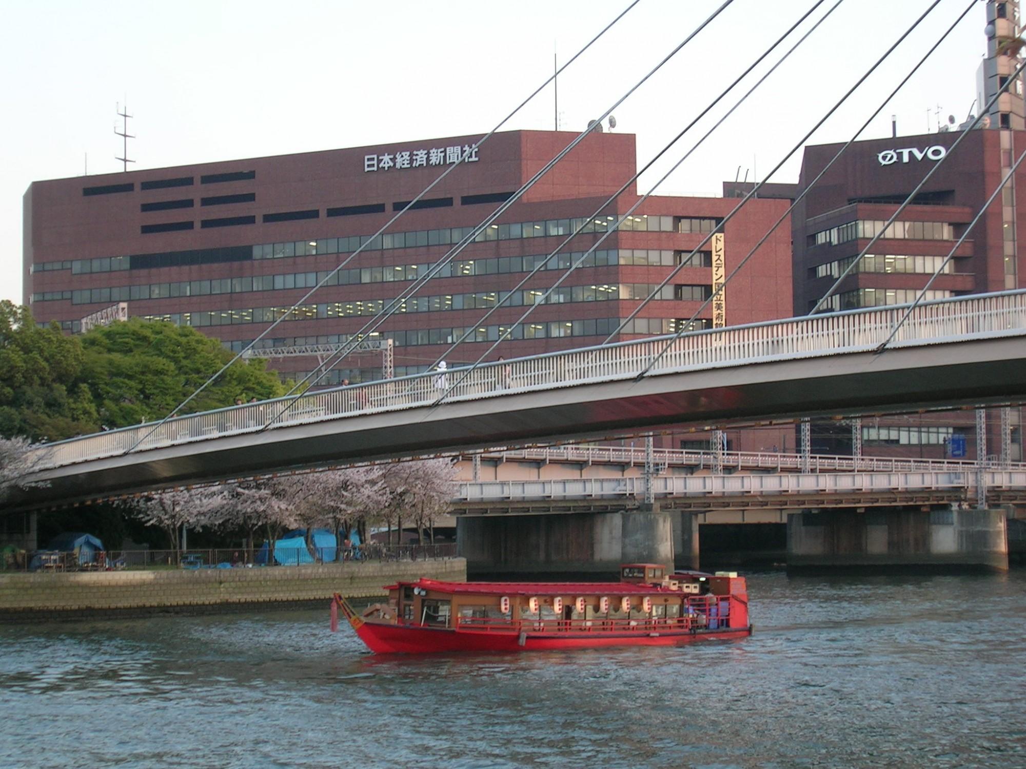 大阪名物 造幣局の桜通り抜け