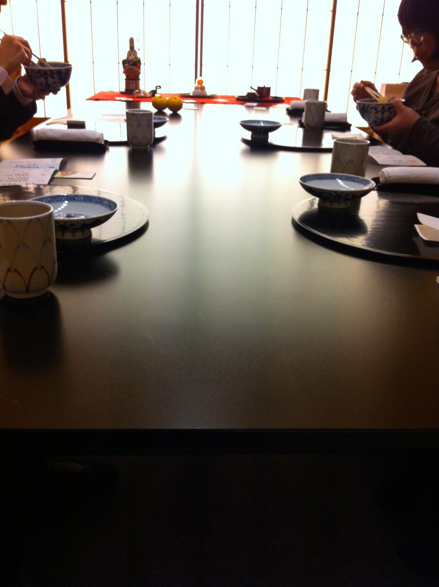 和食のマナーとお正月の室礼