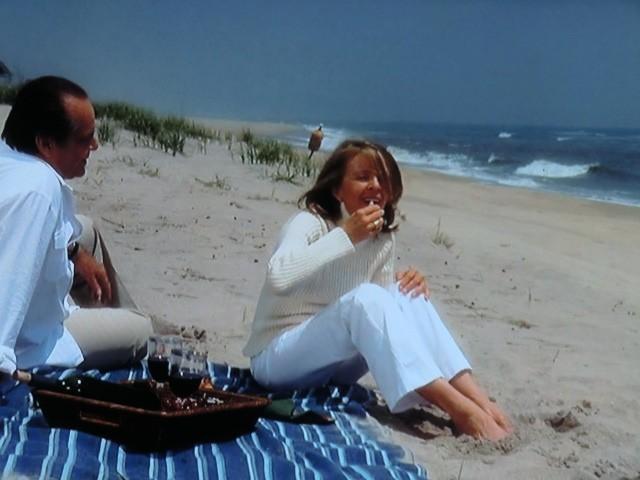 海辺での語らい・・・!?