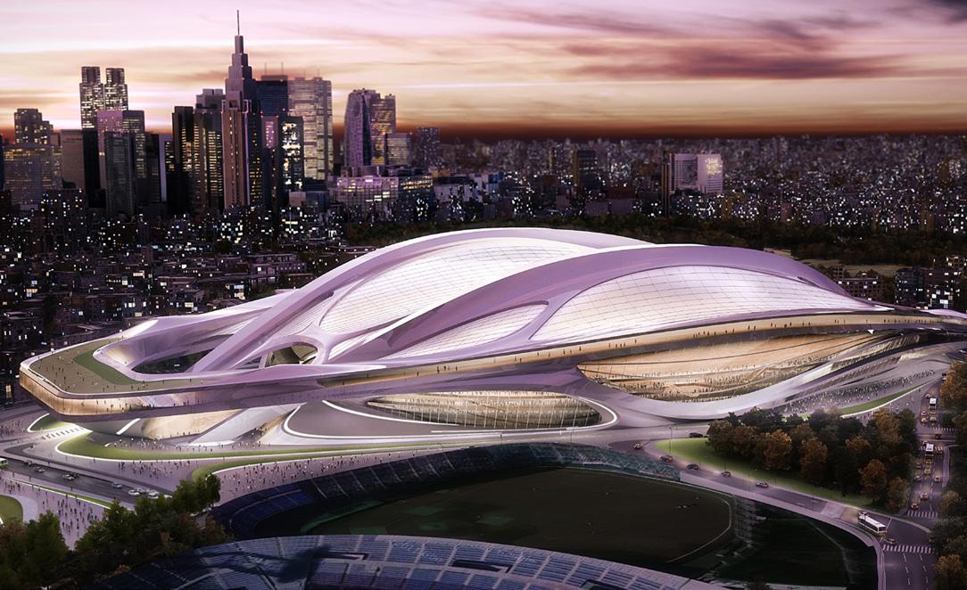 2020年東京開催決定! オリンピックメインスタジアムは超流線形!