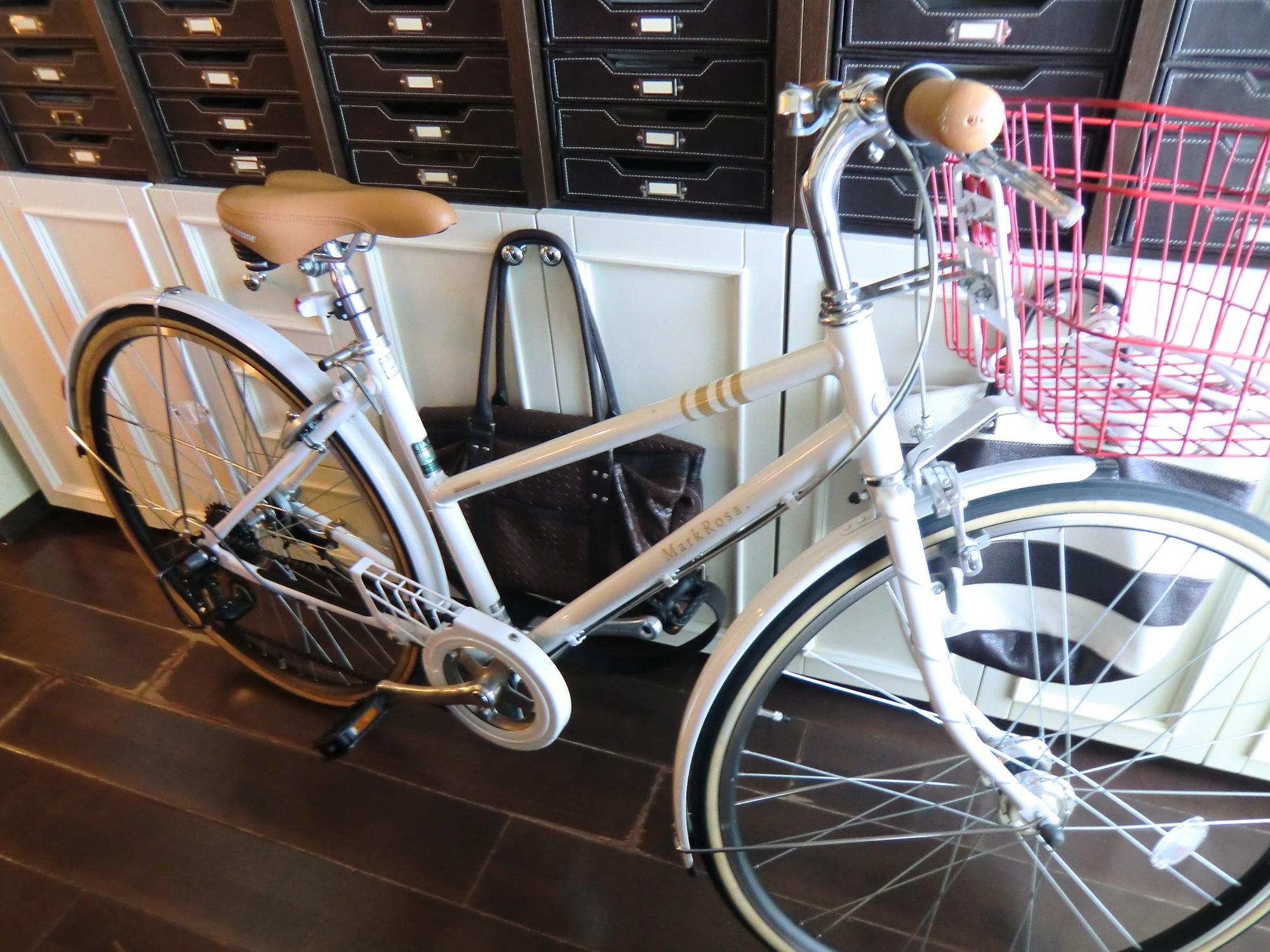 8年前より自転車が行動の中心です・・・!?