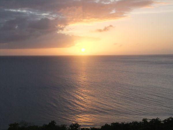 夕日、癒し