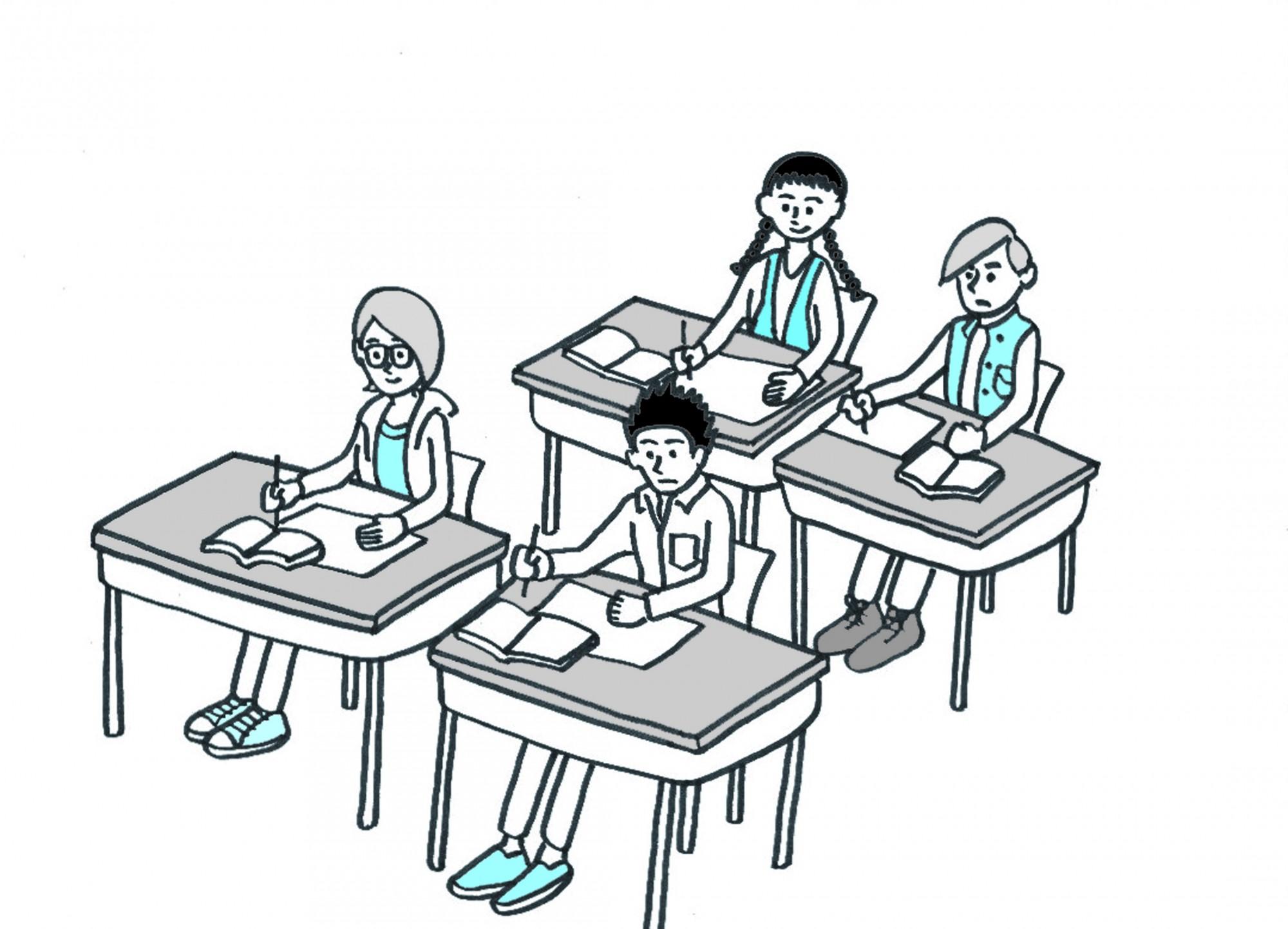 イラスト「中国語テキスト挿絵19」