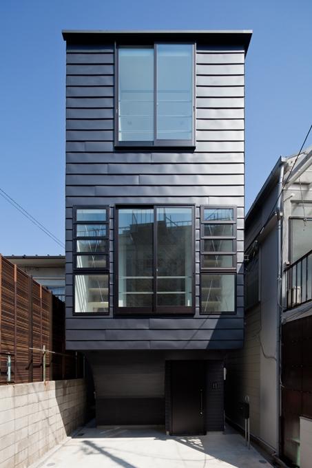11坪の家に10層のフロア 小石川T邸/BW3  01