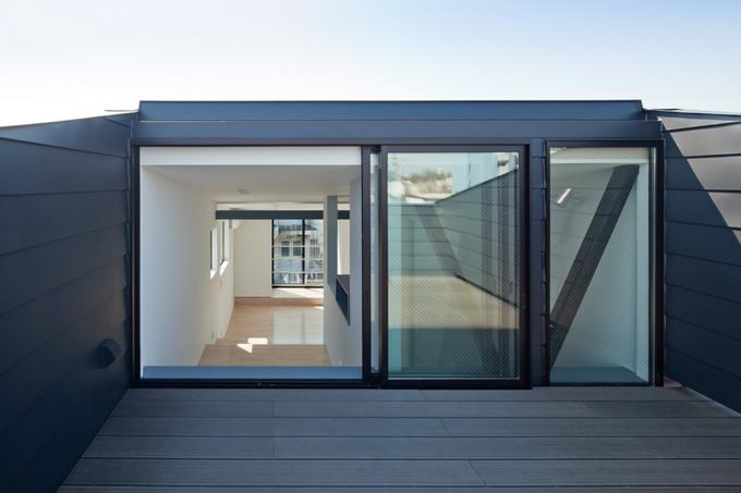 11坪の家に10層のフロア 小石川T邸/BW3  10