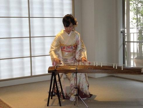 日本の伝統芸能・お箏(こと) 広尾ガーデンヒルズ