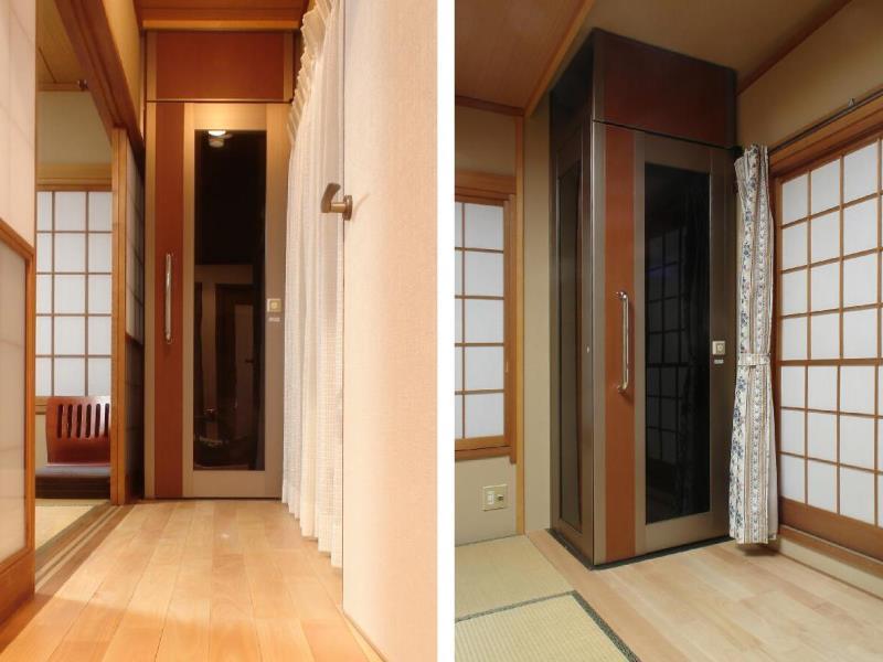 バリアフリー住宅/後付けホームエレベーター