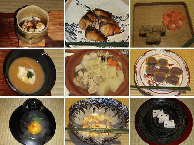 師走夜咄の懐石  2014年12月