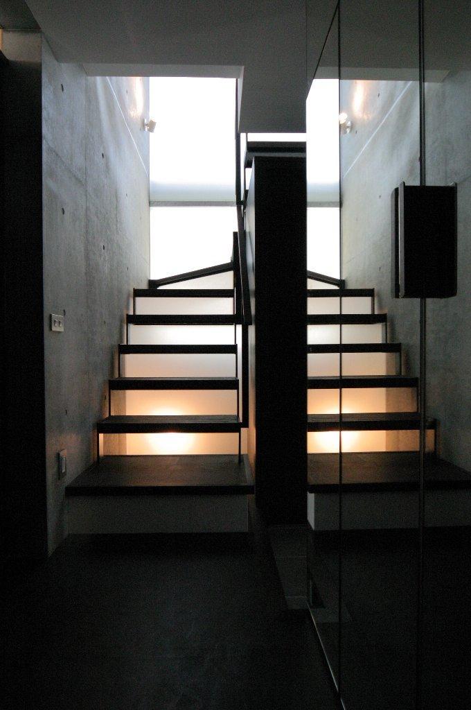船の家:階段