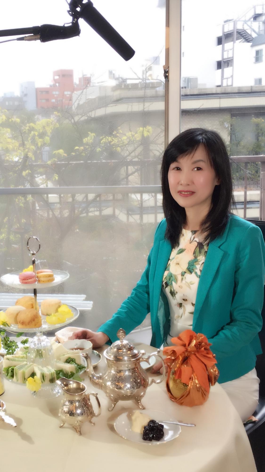 NHKにマナー専門家として出演しました