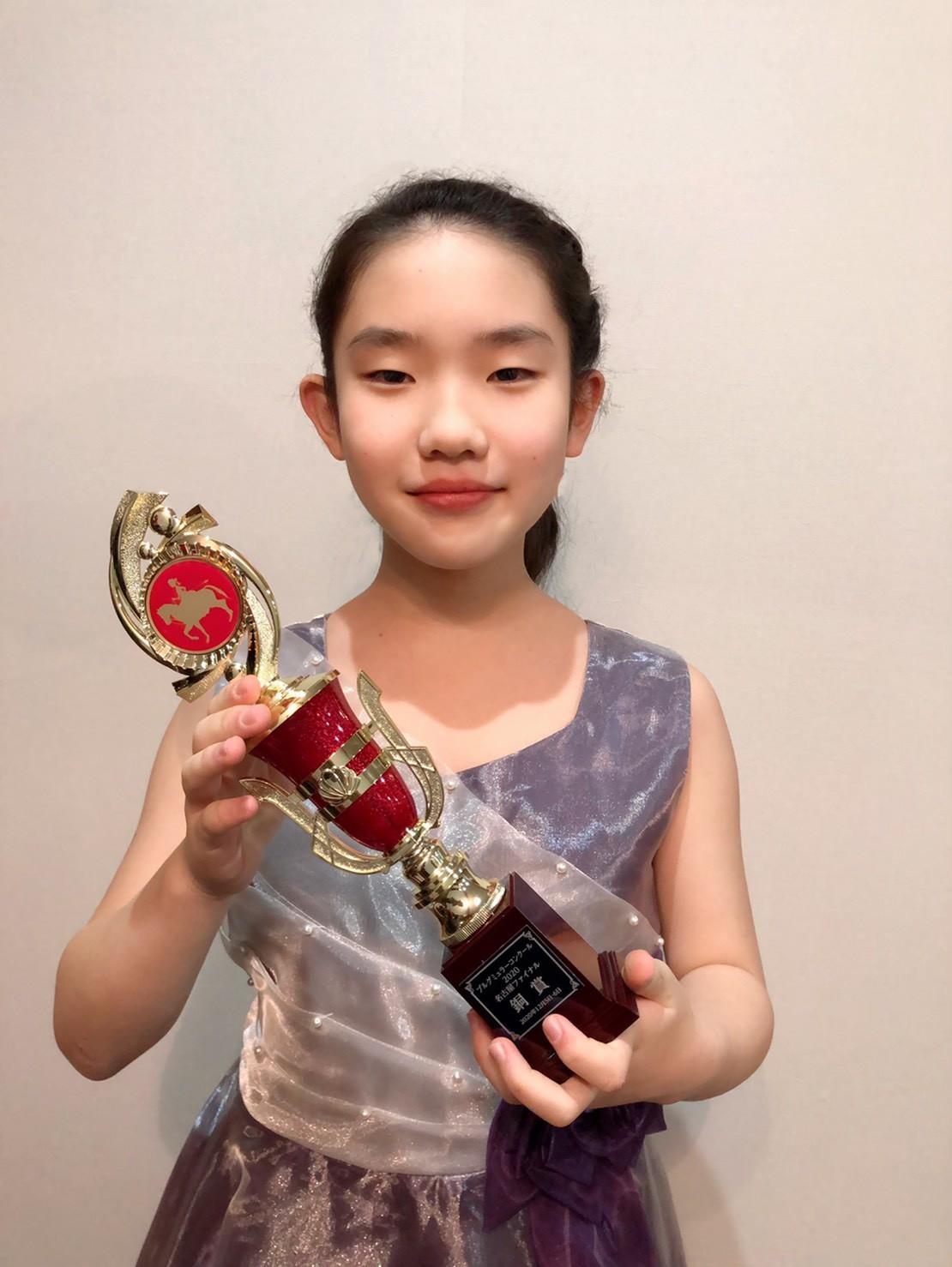 ブルクミュラーコンクール名古屋ファイナル銅賞受賞