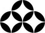 和婚の演出  家紋「持ち合い七宝」