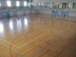 体育館 ライン 塗装(バスケット コート引き)