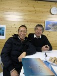 日本屈指の名ダイバーの先輩と共に・・・