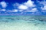 クック諸島QRエリアのラグーン