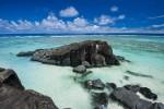 クック諸島の名所ブラックロックです