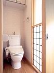 国分寺の家 2階トイレ