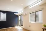 収納の家 ハイサイドライト・リビングデザイン