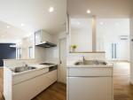 収納の家(ライフスタイル住宅) キッチンデザイン