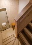 木の階段 リノベーションアパートメント