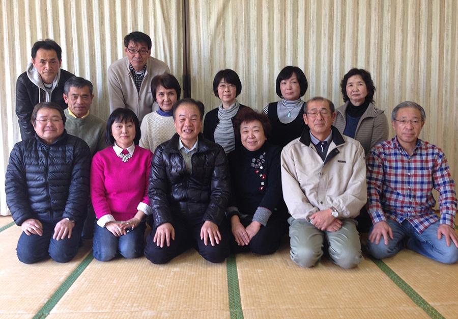 阿久根中学校昭和49年卒同窓会の幹事会