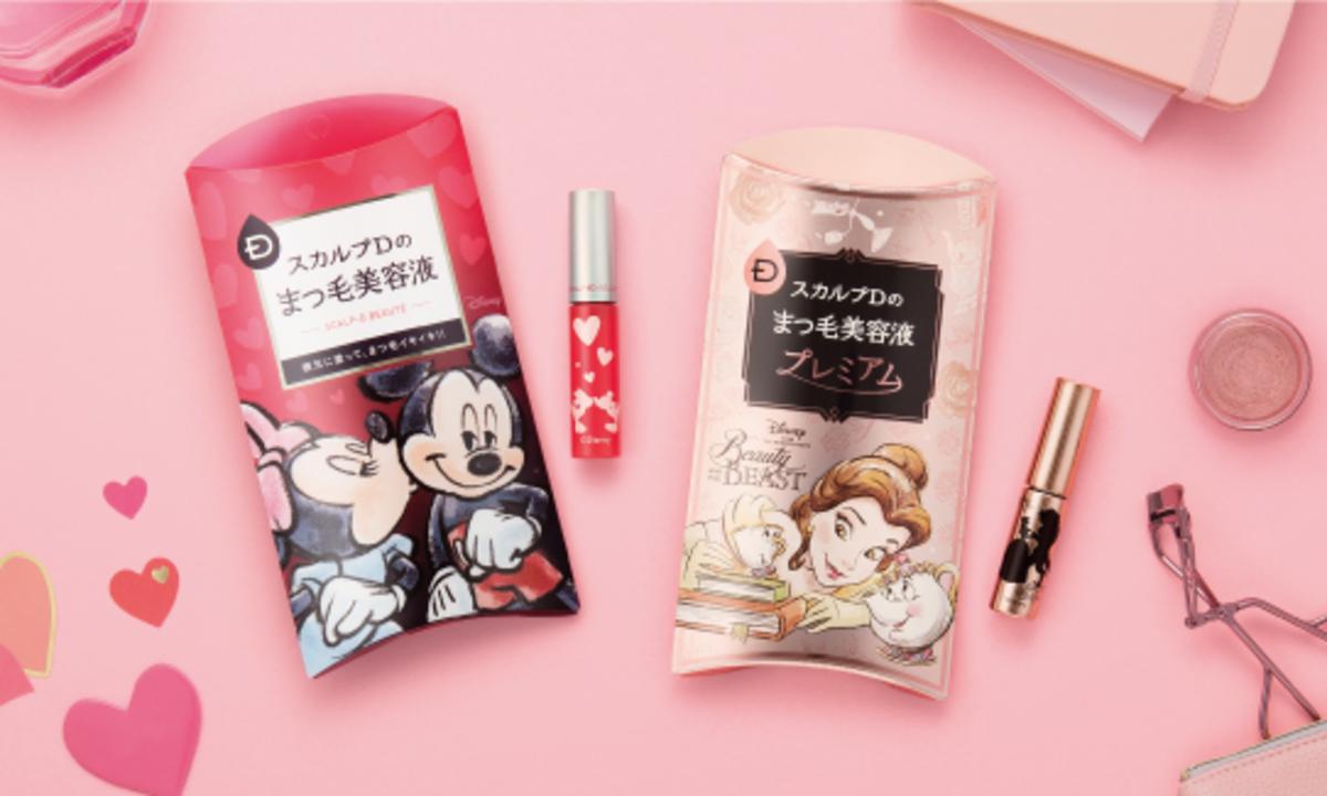 今年もまつ毛美容液からディズニーデザイン発売♡話題の「まつ育」を楽しもう!
